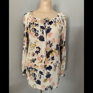 Lucky Brand Size XS Floral Top